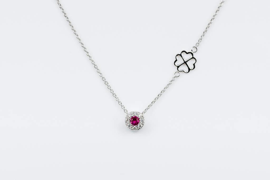Collana Invisible Petite Rubis - Idea regalo fidanzata - Gioielleria Casavola Noci