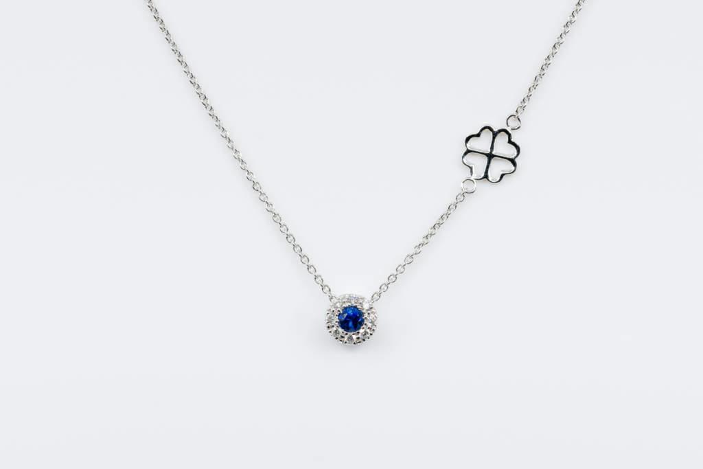 Collana Invisible Petite Saphir - Idea regalo per lei fidanzata - Gioielleria Casavola Noci