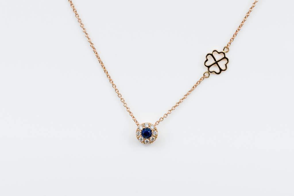 Collana Invisible Petite Saphir Rose - idea regalo per lei - Gioielleria Casavola Noci