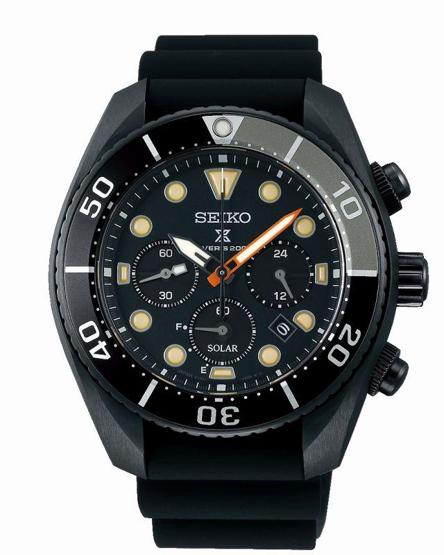 Seiko Black Series SSC761J1 - Casavola - cronografo subacqueo professionale - Gioielleria Casavola Noci