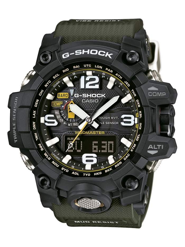 Casio G-Shock Mudmaster GWG-1000-1A3ER - Gioielleria Casavola Noci - orologio militare tattico per eccellenza