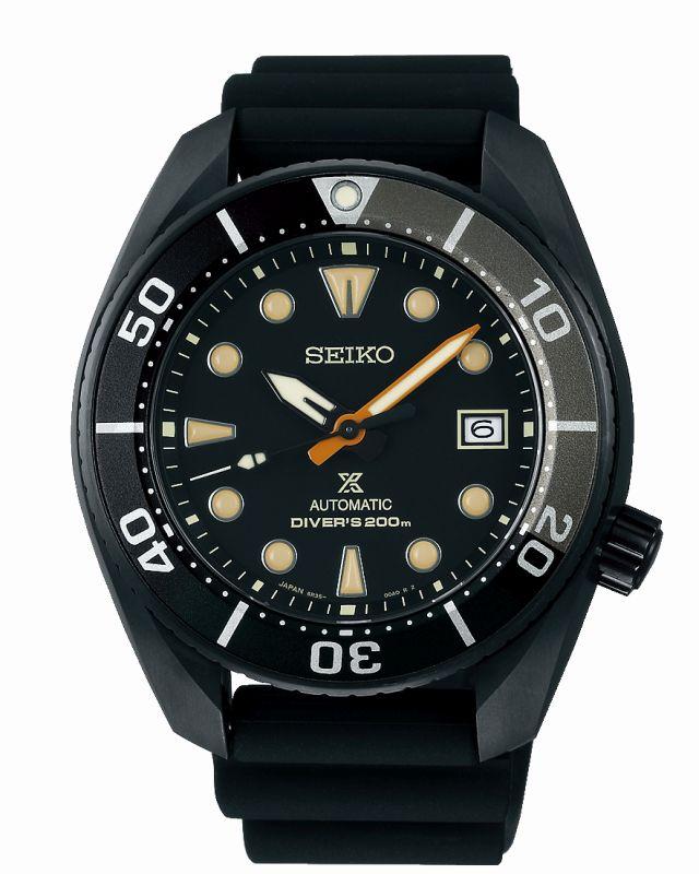 Seiko Black Series SPB125J1 - orologio automatico uomo acciaio gunmetal - Gioielleria Casavola Noci