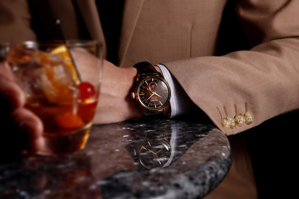 Seiko Presage Old Fashioned SSA392J1 - Gioielleria Casavola Noci - orologio in edizione limitata serie cocktail - Promo