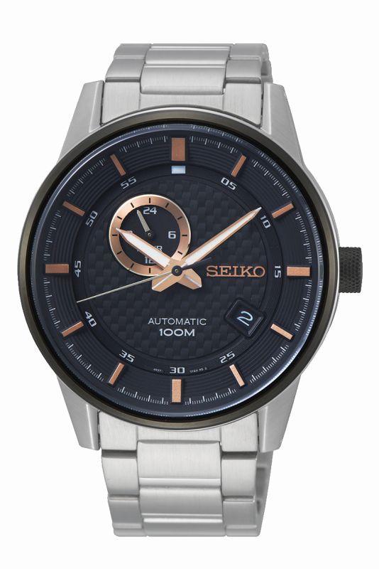 Seiko Sport automatic SSA389K1 - orologio uomo acciaio sportivo - Gioielleria Casavola Noci