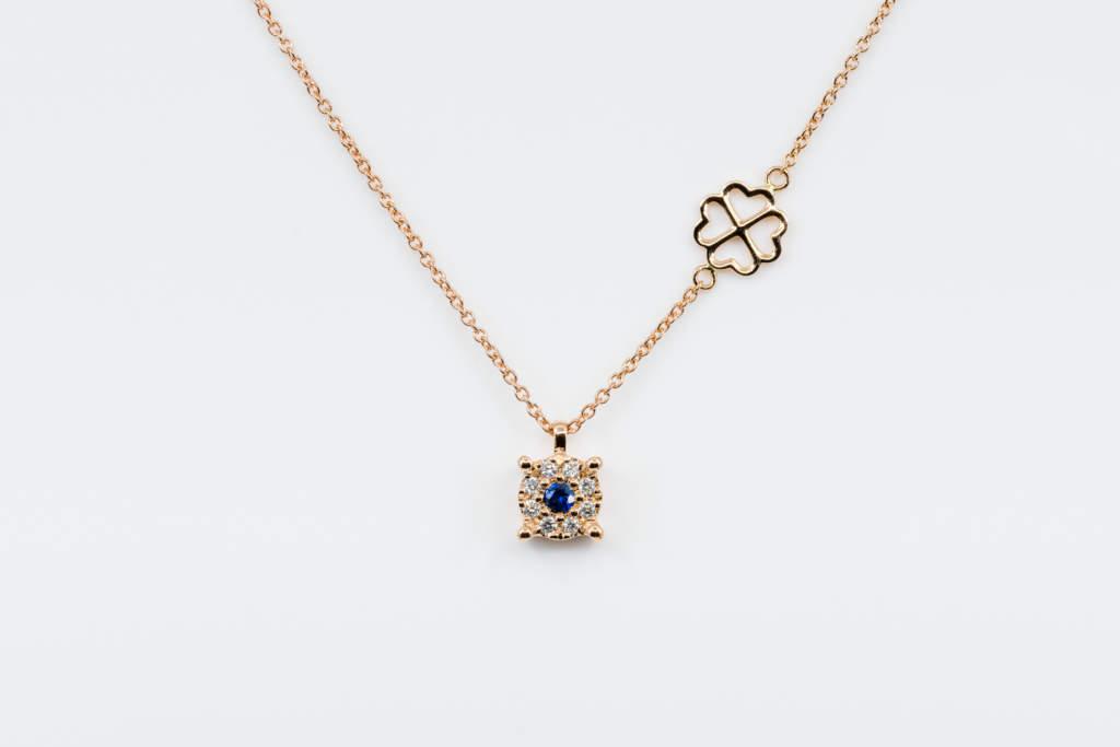 Collana Invisible Beau Saphir Rose - Casavola - Gioiellieri dal 1882 - Noci - idea regalo economica - san valentino - natale