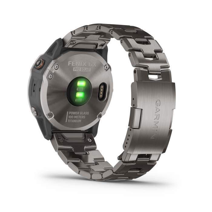 Garmin Fenix 6XPro Solar Titanium - Gioielleria Casavola Noci - back - smartwatch gps multisport