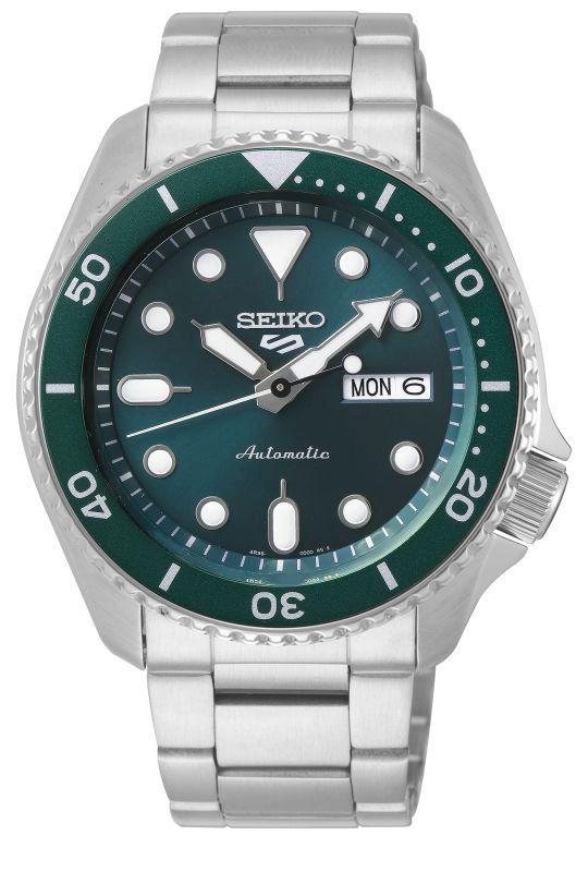 Seiko 5 Sports SRPD61K1 - Gioielleria Casavola Noci - orologio automatico verde acciaio