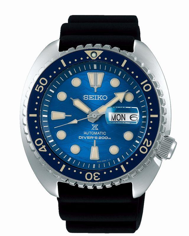 Seiko Prospex Diver SRPE07K1 - orologio automatico uomo save the ocean - Gioielleria Casavola Noci - main