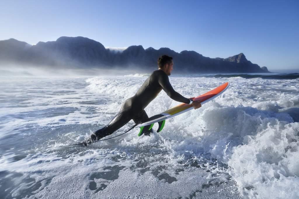 Garmin Fenix 6 Solar Smartwatch GPS Saturimetro - Gioielleria Casavola Noci - surf nuoto mare oceano