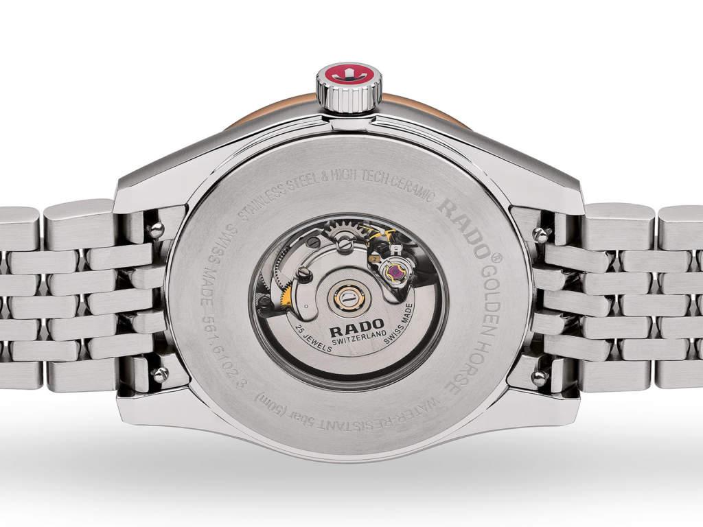 Rado Golden Horse R33102103 orologio automatico svizzero donna - Gioielleria Casavola Noci - fondello