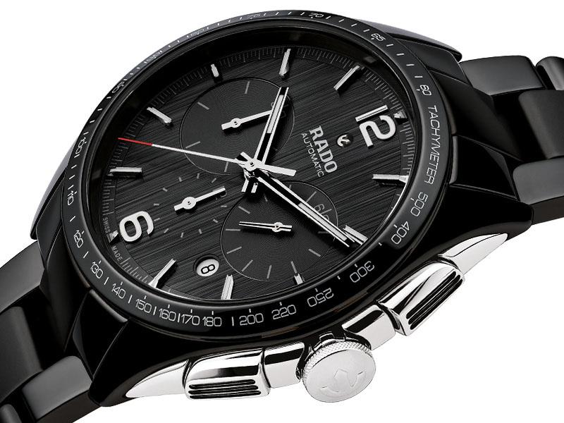 Rado Hyperchrome R32121152 orologio ceramica - cronografo automatico uomo - Gioielleria Casavola Noci - promo
