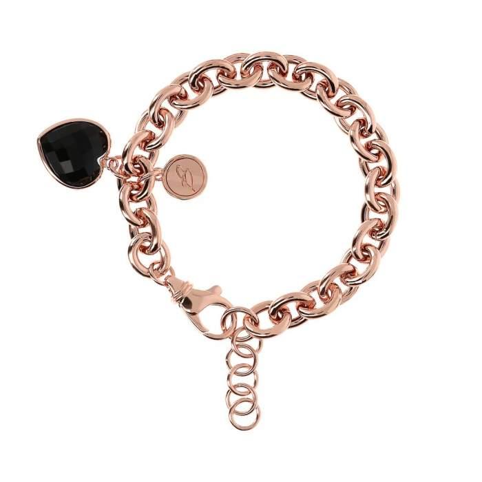 Bracciale cuore Bronzallure WSBZ00535BO idea regalo fidanzata compleanno - Gioielleria Casavola Noci - main