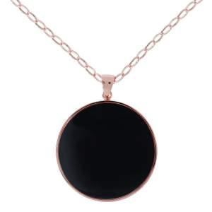 Collana disco Bronzallure WSBZ00708B idea regalo donna - Gioielleria Casavola Noci - dettaglio pendente