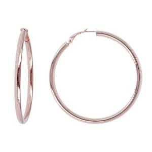 Orecchini cerchio Bronzallure WSBZ00310B idea regalo donna compleanno - Gioielleria Casavola Noci - dettaglio