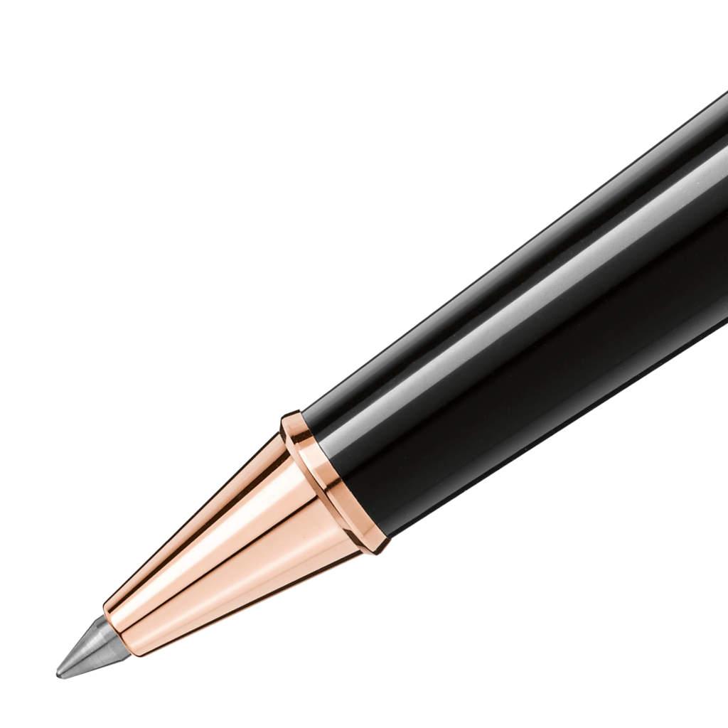 Montblanc Meisterstuck penna roller oro rosa Classique 112678 - Gioielleria Casavola Noci - dettaglio - idea regalo laurea ingegnere