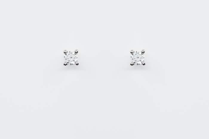 Orecchini punto luce diamanti certificati 70 punti - Gioielleria Casavola Noci - idee regalo