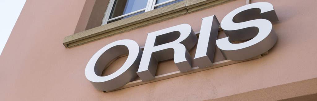 Oris - orologi svizzeri di qualità realizzati ad Holstein - Gioielleria Casavola Noci - Fabbrica dell'azienda
