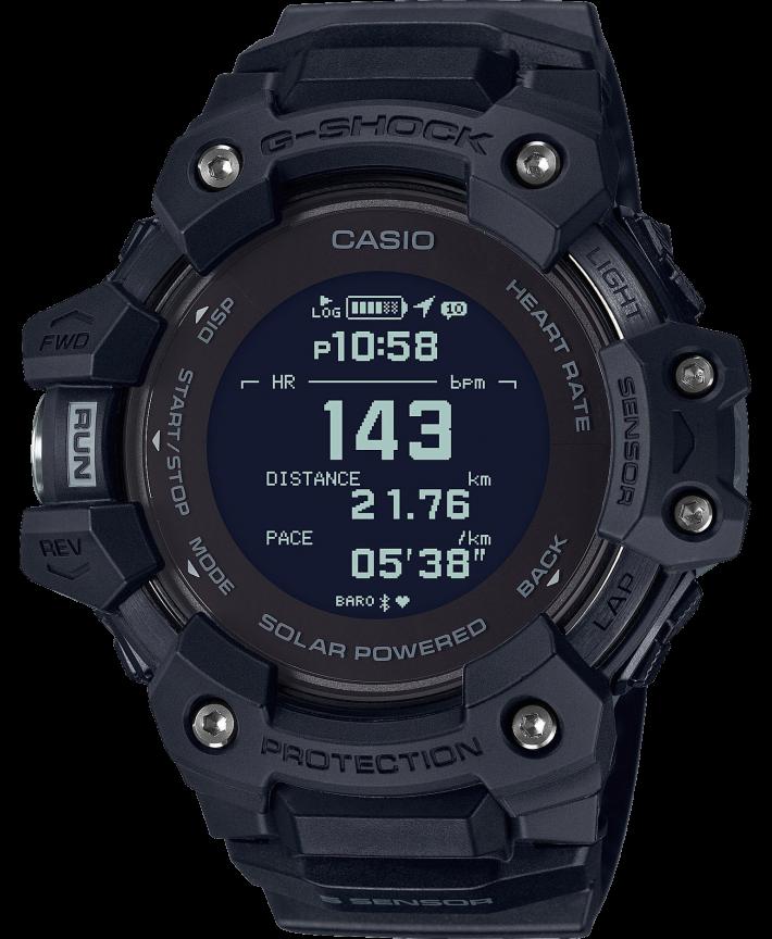 Casio G-Shock G-Squad GBD-H1000-1ER - Gioielleria Casavola Noci - smartwatch carica solare lettore cardio - idee regalo uomo sportivo