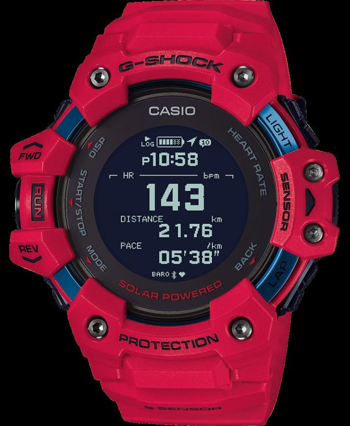 Casio G-Shock G-Squad GBD-H1000-4ER - Gioielleria Casavola Noci - smartwatch lettore cardio - idea regalo uomo