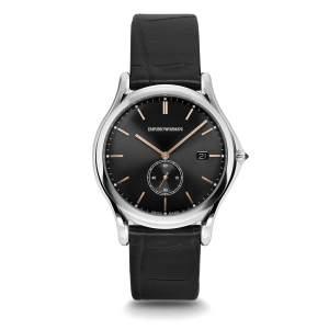 Emporio Armani Swiss Made ARS1013 - Gioielleria Casavola Noci - idee regalo uomo - orologio svizzero sottile elegante