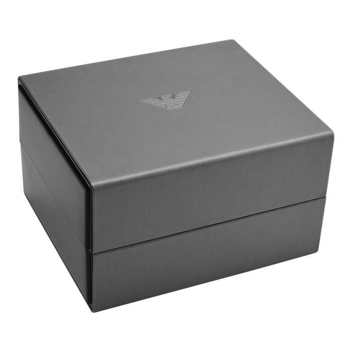 Emporio Armani set orologio e bracciale AR80026 - Gioielleria Casavola Noci - box - idee regalo uomo