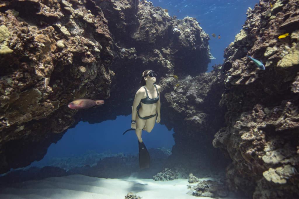 Garmin Descent MK2 - Smartwatch GPS per immersioni -Gioielleria Casavola Noci - immagine subacquea
