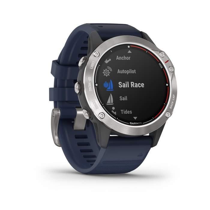 Garmin Quatix 6 - Smartwatch GPS per attività marittime - Gioielleria Casavola Noci - frontale destro