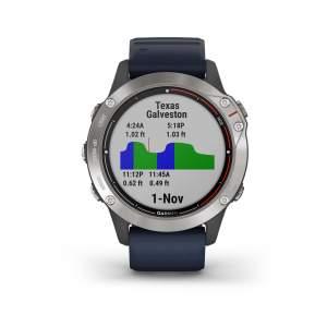 Garmin Quatix 6 - Smartwatch GPS per attività marittime - Gioielleria Casavola Noci - main