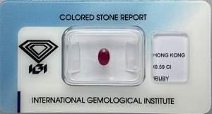 Gioielleria Casavola Noci - blister - igi - certificati internazionale - smeraldo -