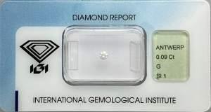 Gioielleria Casavola noci - igi - diamante - investimento - battesimo -