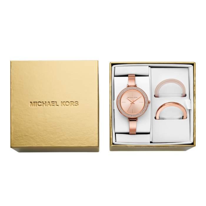 Michael Kors Orologi MK4435 - Gioielleria Casavola Noci - box set regalo donne - dettaglio