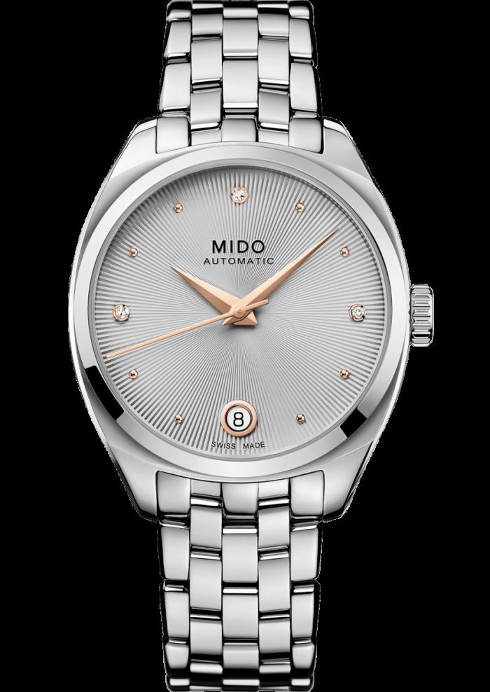 Mido Belluna Royal Lady M024.307.11.076.00 - Gioielleria Casavola Noci - main - idee regalo donne orologio diamanti