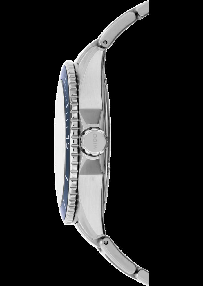 Mido Ocean Star 200 Italia M026.430.11.081.00 - Gioielleria Casavola Noci - corona - orologio automatico subacqueo uomo