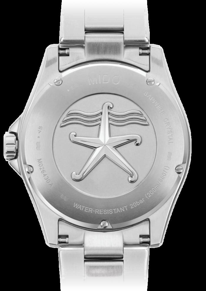 Mido Ocean Star 200 Italia M026.430.11.081.00 - Gioielleria Casavola Noci - fondello - orologio subacqueo automatico uomo