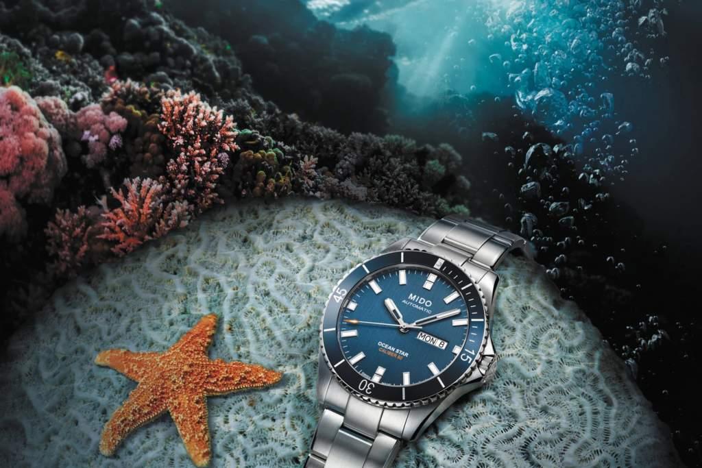 Mido Ocean Star 200 M026.430.11.041.00 - Gioielleria Casavola di Noci - immagine promo oceano - orologio subacqueo uomo acciaio automatico