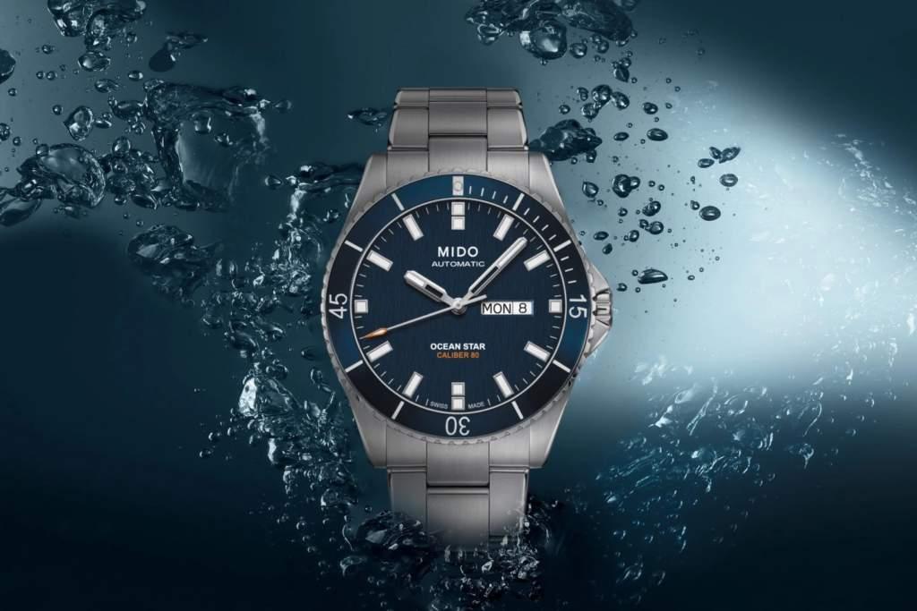 Mido Ocean Star 200 M026.430.11.041.00 - Gioielleria Casavola di Noci - immagine promo - orologio subacqueo uomo acciaio automatico