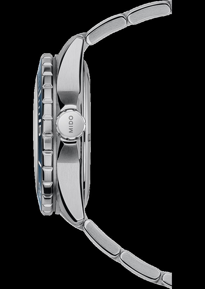 Mido Ocean Star Diver 600 M026.608.11.041.00 - Gioielleria Casavola Noci - orologio subacqueo 600 metri - corona - idee regalo uomo