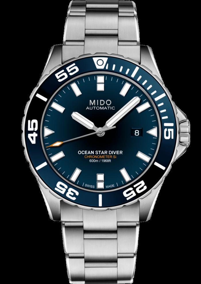 Mido Ocean Star Diver 600 M026.608.11.041.00 - Gioielleria Casavola Noci - orologio subacqueo 600 metri - main - idee regalo uomo