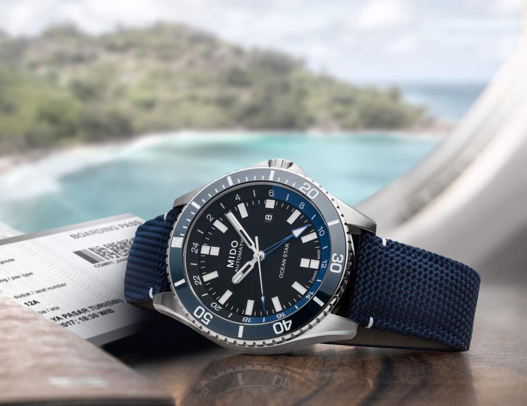 Mido Ocean Star GMT M026.629.17.051.00 - Gioielleria Casavola di Noci - orologio automatico - idee regalo uomo
