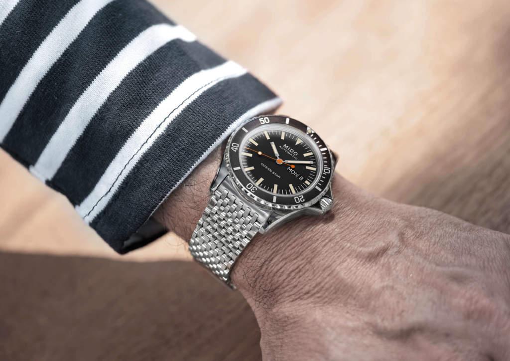 Mido Ocean Star Tribute M026.830.11.051.00 - Gioielleria Casavola - Promo indossato - orologio automatico uomo acciaio polso