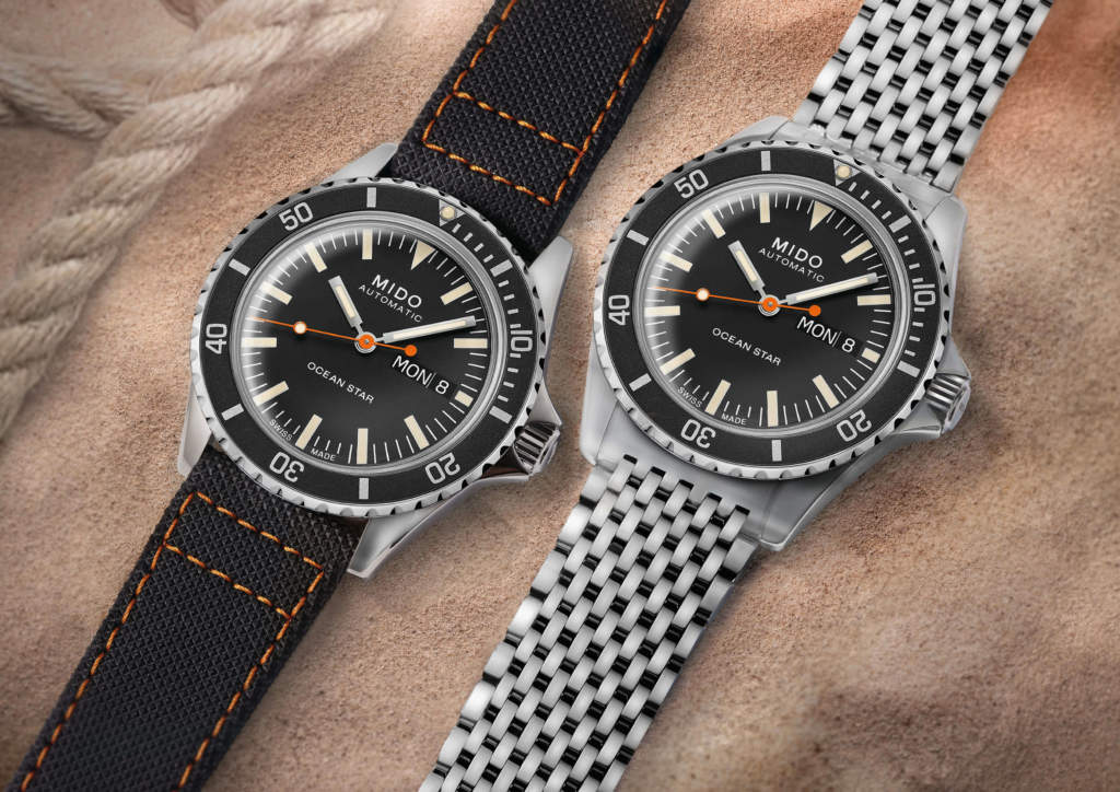 Mido Ocean Star Tribute M026.830.11.051.00 - Gioielleria Casavola - Promo - orologio automatico uomo acciaio pelle