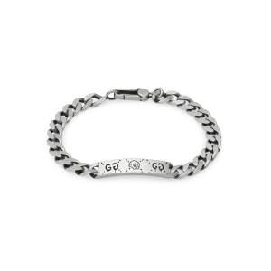 Gucci Jewelry Argento YBA455321001 - Gioielleria Casavola Noci - bracciale donna Ghost fashion moda