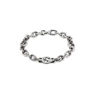 Gucci Jewelry Argento YBA620798001 - Gioielleria Casavola Noci - bracciale argento fashion donna uomo unisex