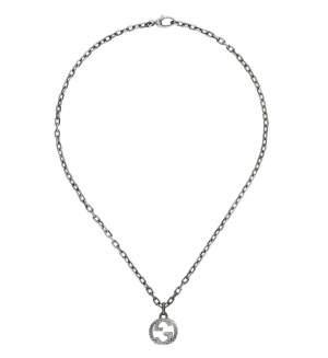 Gucci Jewelry Argento YBB455307001 - Gioielleria Casavola Noci - collana doppia G unisex - idee regalo