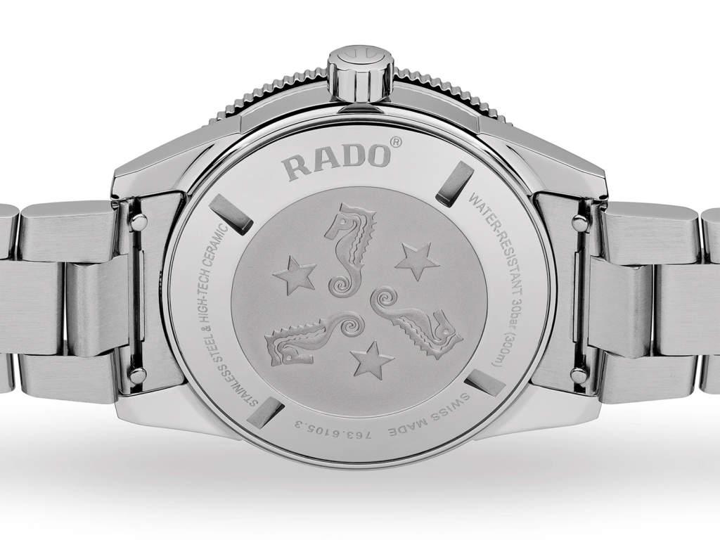 Rado Captain Cook R32105153 - Gioielleria Casavola Noci - fondello - orologio automatico uomo