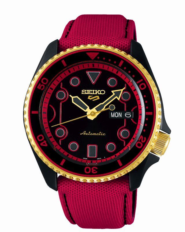 Seiko 5 Sports Street Fighter Ken SRPF20K1 - Gioielleria Casavola Noci - orologio da collezione - serie limitata