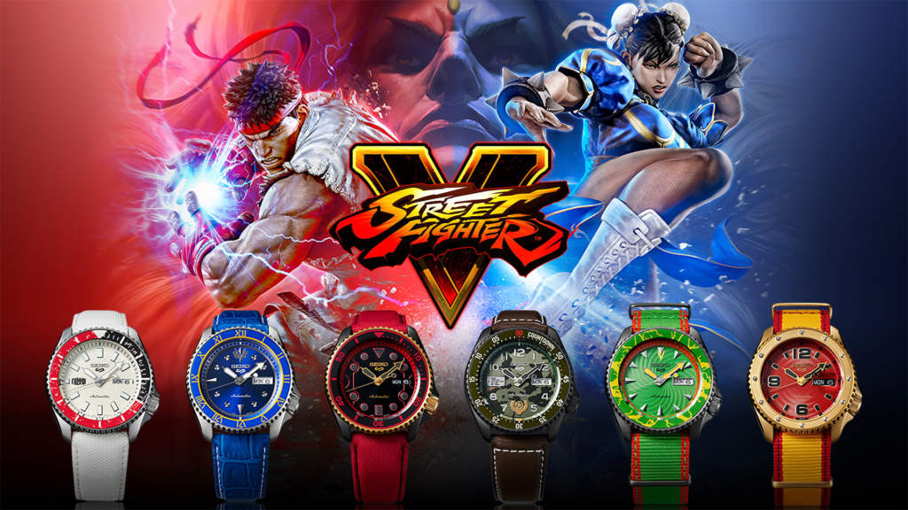 Seiko 5 Sports Street Fighter - orologi automatici edizione limitata - Gioielleria Casavola Noci - immagine promozionale