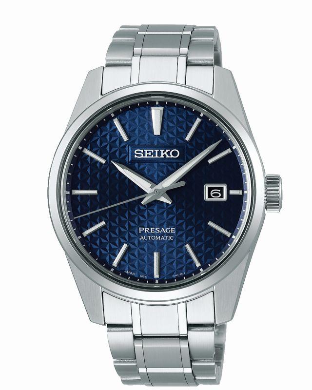 Seiko Presage Sharp Edged SPB167J1 - Gioielleria Casavola Noci - idee regalo uomo - orologio classico automatico