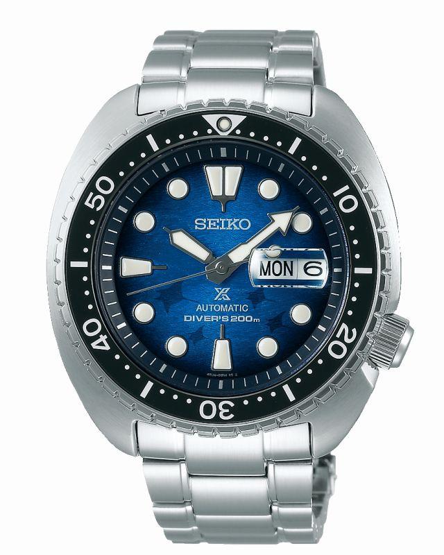Seiko Prospex Diver SRPE39K1 - Gioielleria Casavola Noci - main - orologio automatico acciaio Save the Ocean