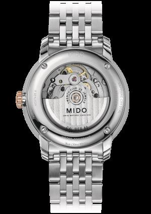 Mido Baroncelli Big Date M027.426.22.018.00 - Gioielleria Casavola Noci - orologio automatico Gran Data - back - idea regalo uomo importante